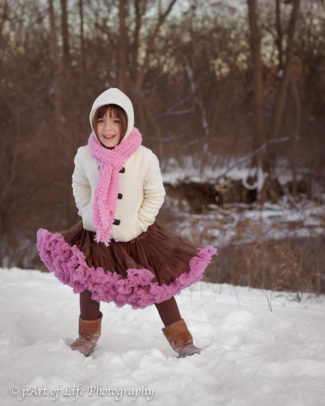 Rochester Michigan winter river walk