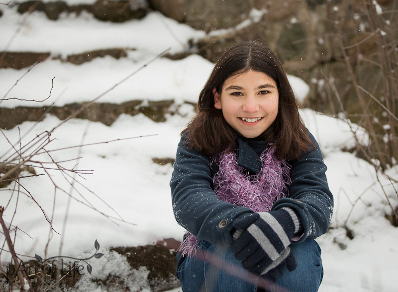 Stylish Teen Winter Portrait Session by pArt of Life Photography LLC