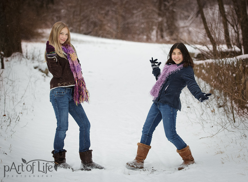 Winter Photo session by pArt of Life Photography, Oakland County Photographer
