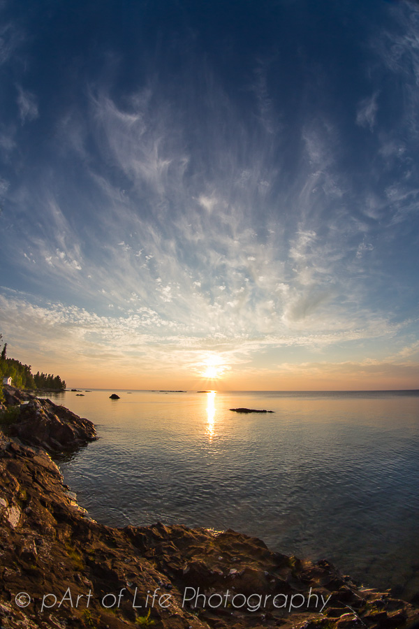 Lake Superior sunset photography