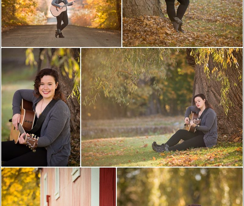 Oakland Township Photographer ~ Singer, Songwriter photo session
