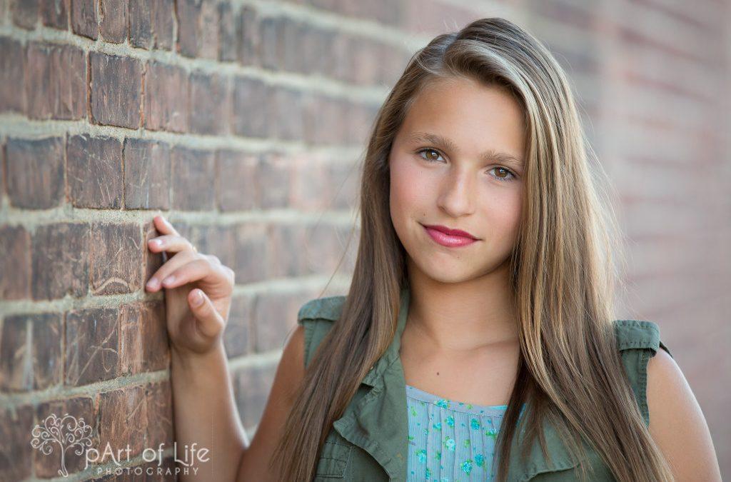 Teen head shots ~ Rochester Michigan