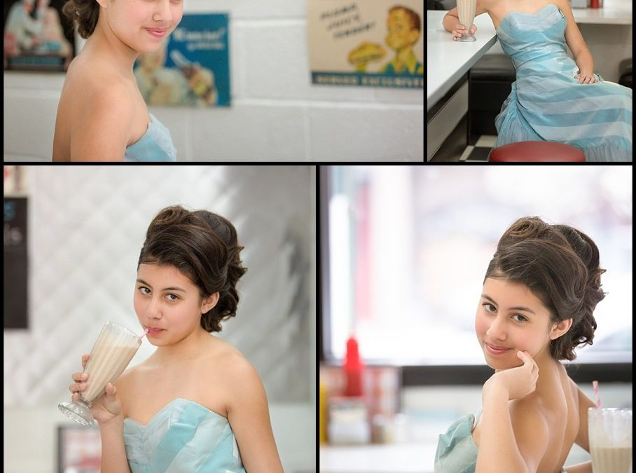 Tween Diner Photo Session ~ Rochester Michigan