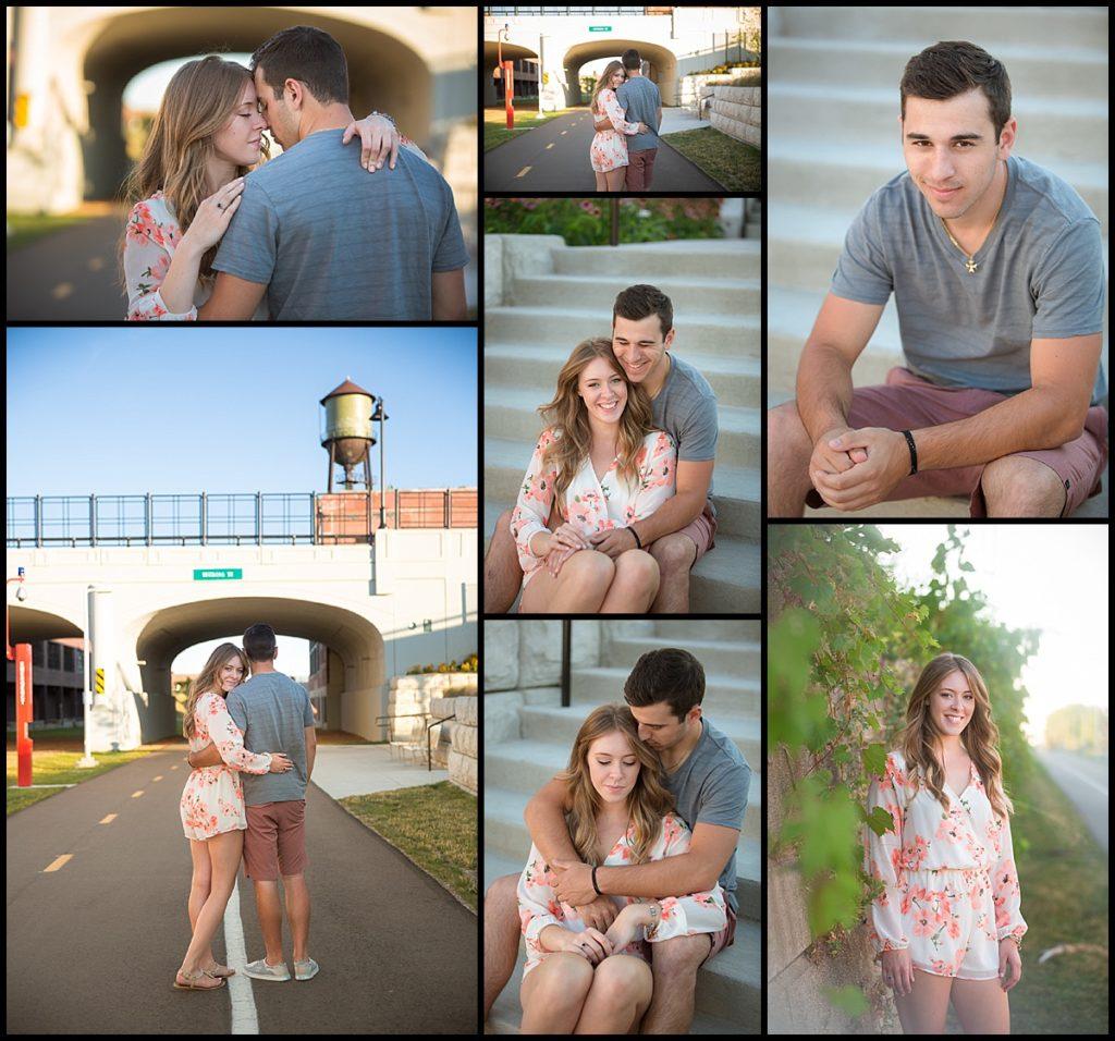dequindre cut couples photo session