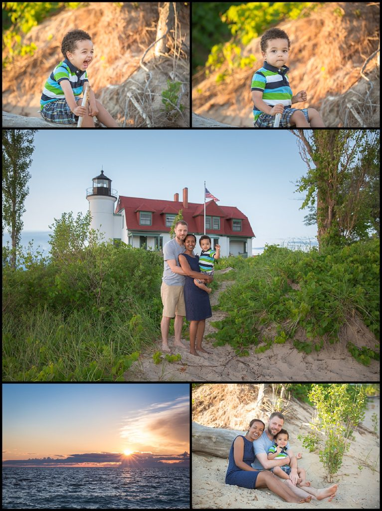 northern michigan summer family photo session