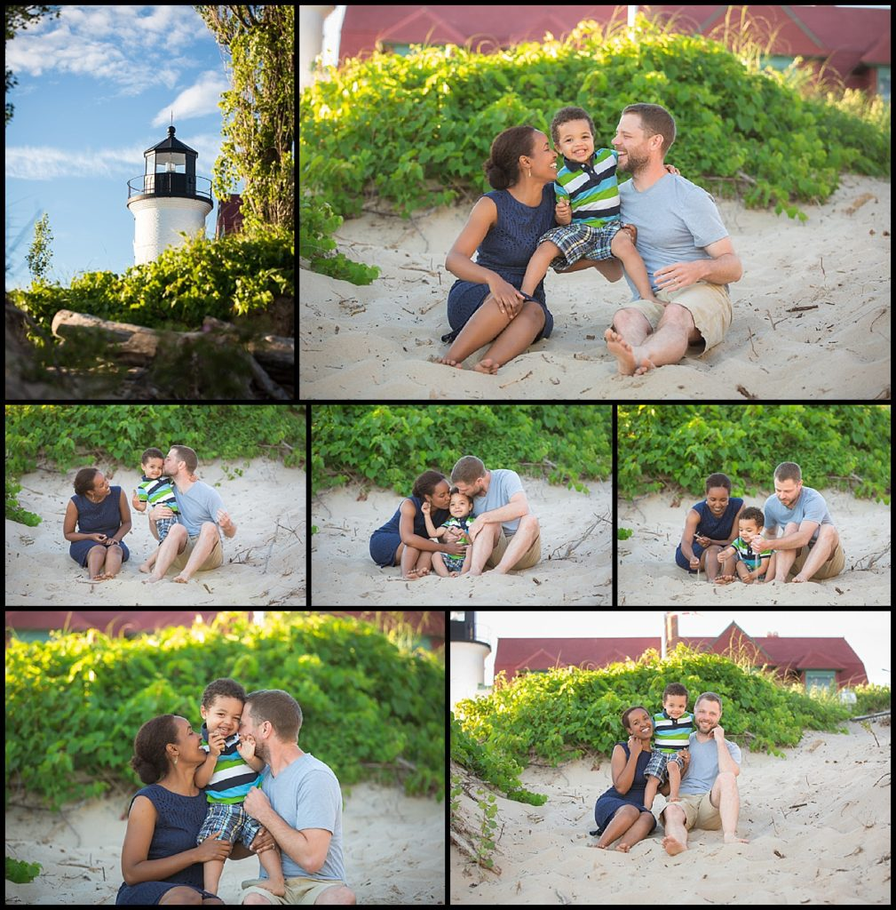 sleeping bear family photo session