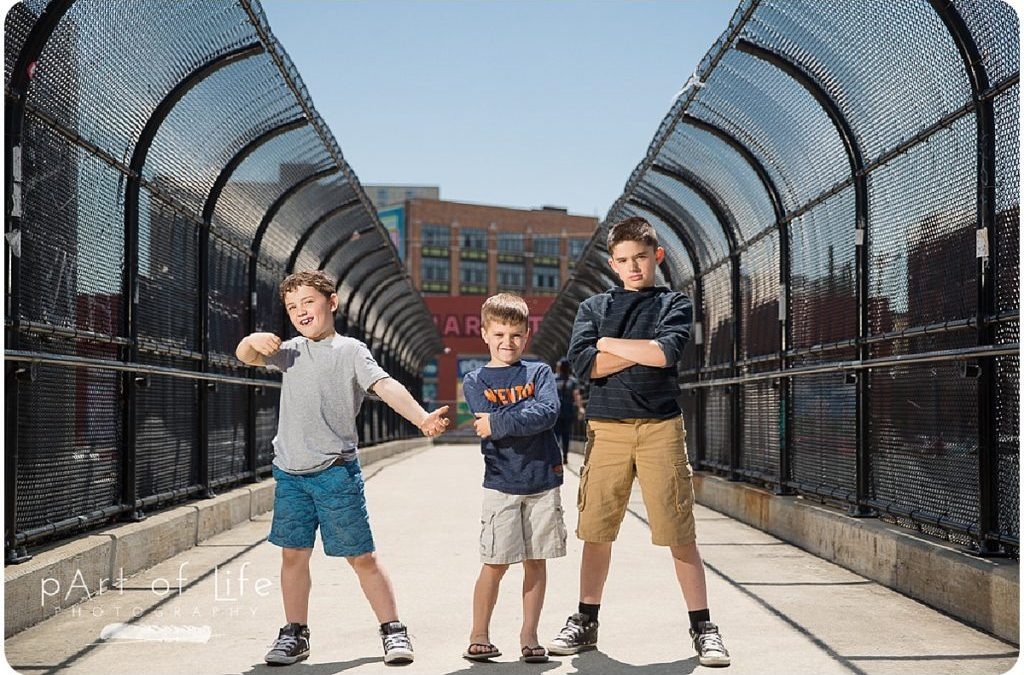 Detroit Family Photo Session