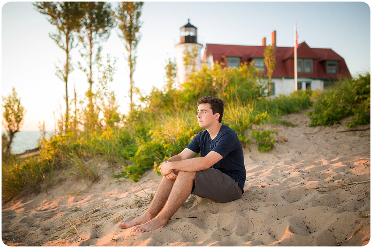 Senior Session in Northern Michigan