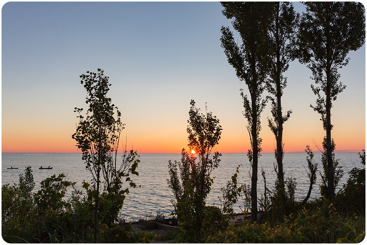 Point Betsie sunset, the perfect ending to a northern Michigan photo session