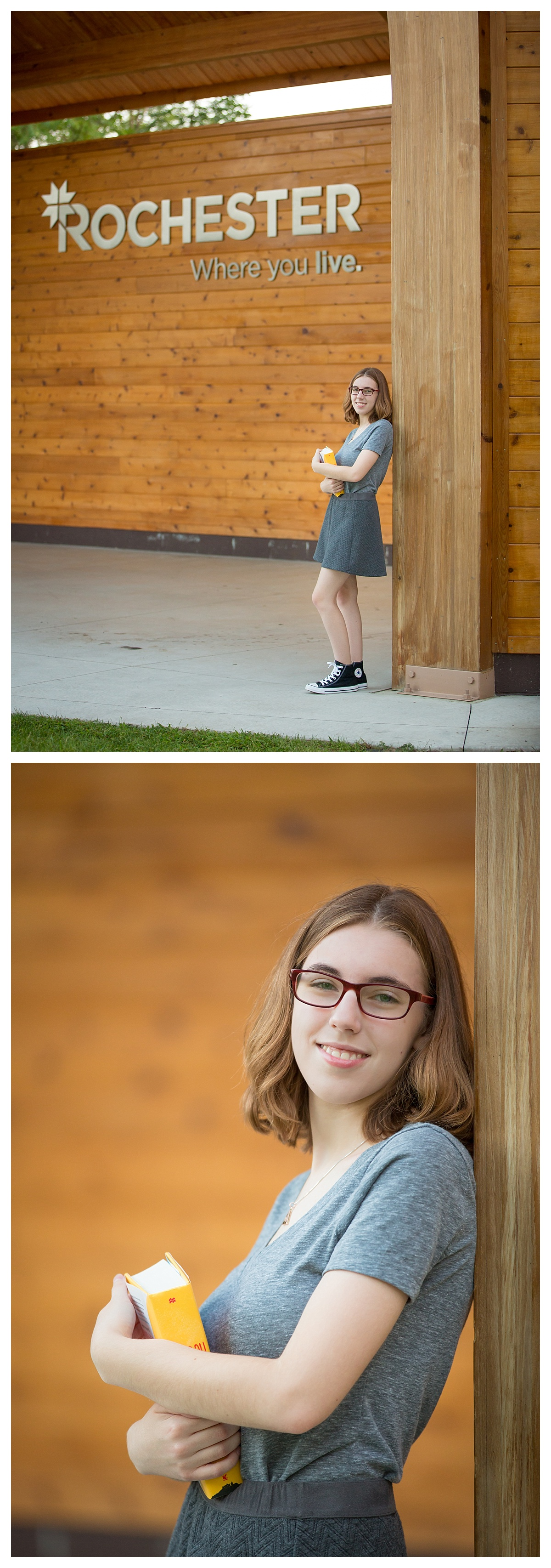 Rochester, Where you Live Senior Portrait Session