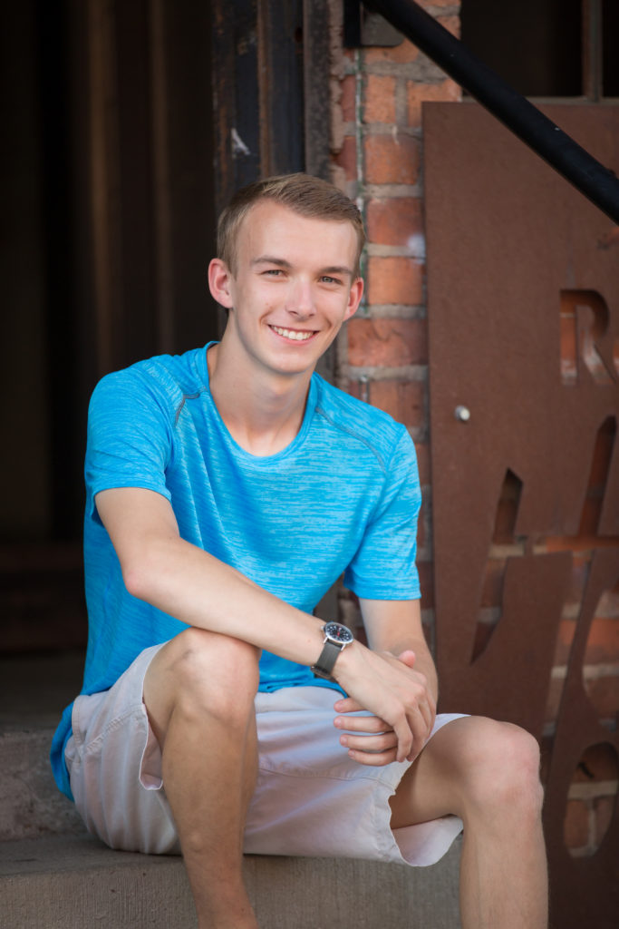 Stoney Creek High School Detroit Senior Photo session