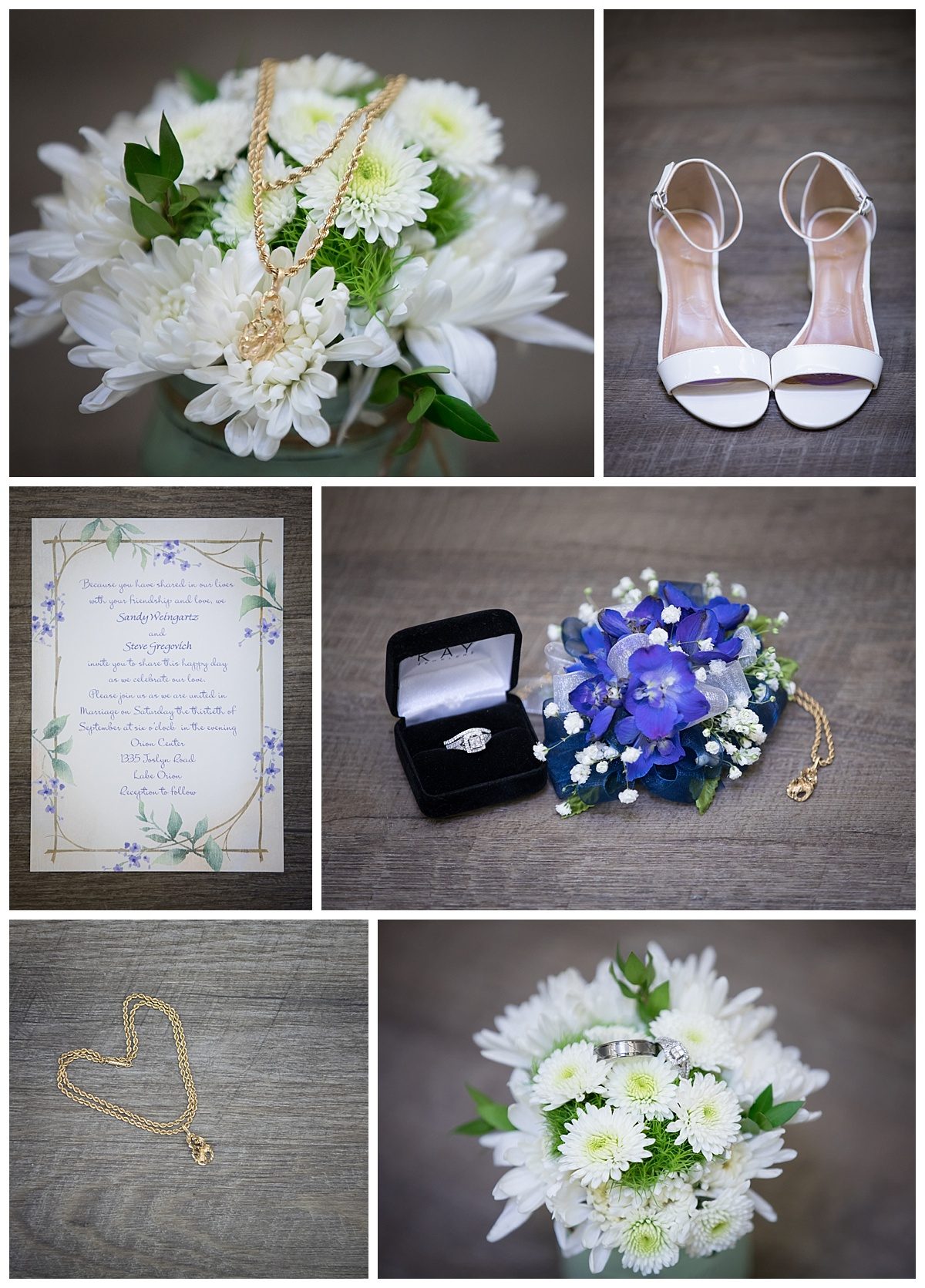 lake oprion wedding details