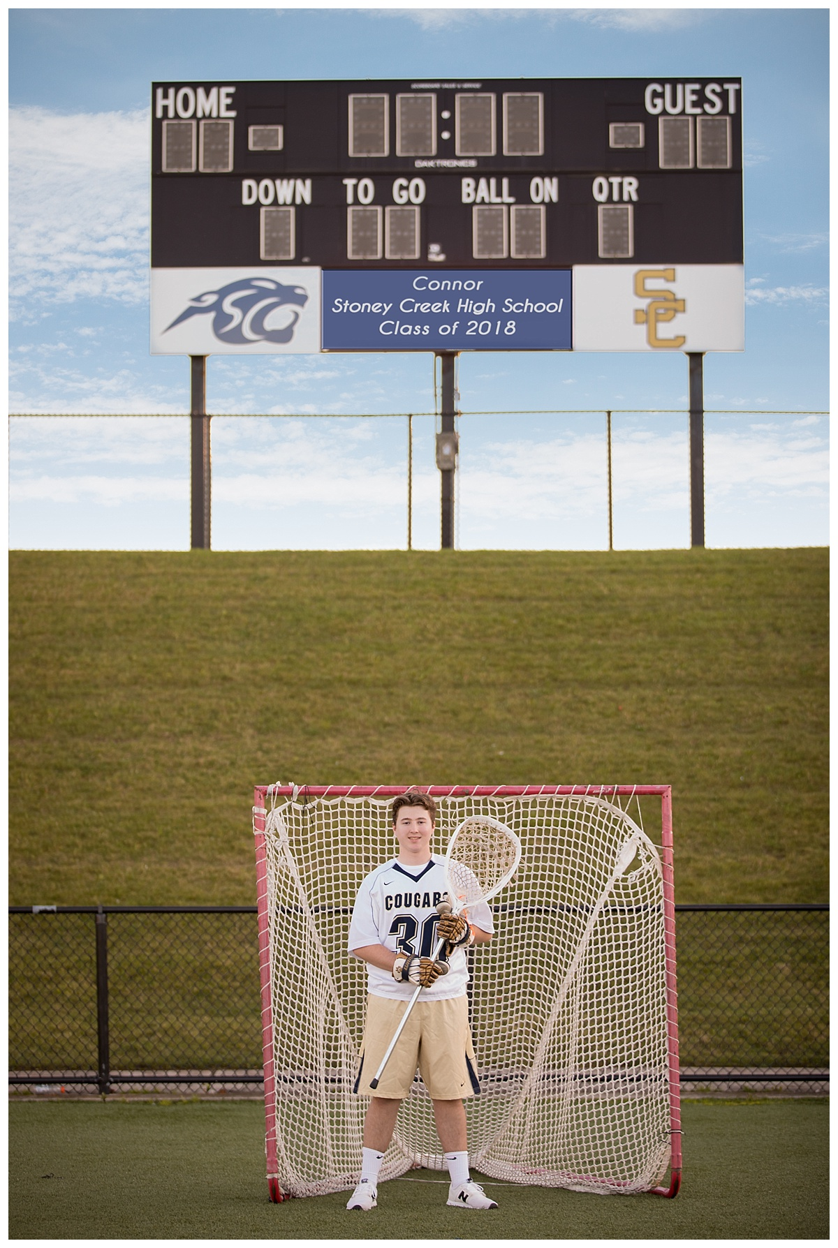 stoney creek lacrosse senior photo session