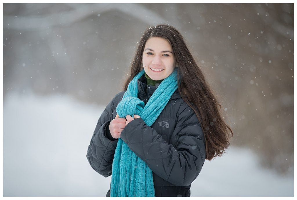 Stoney Creek Senior Photo Session at Paint Creek Trail