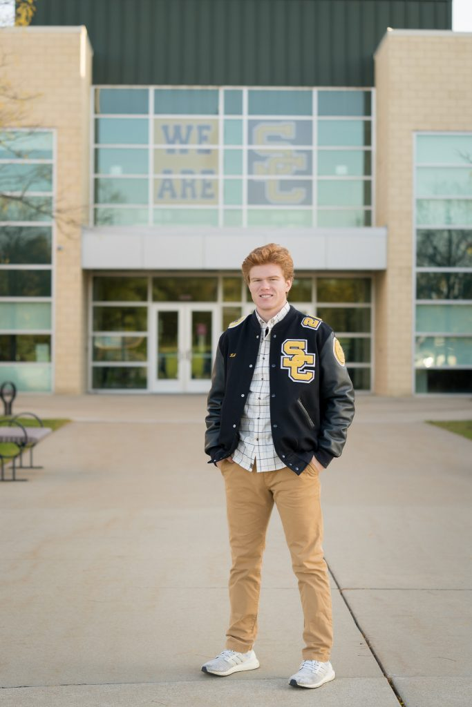 stoney creek high school senior portrait