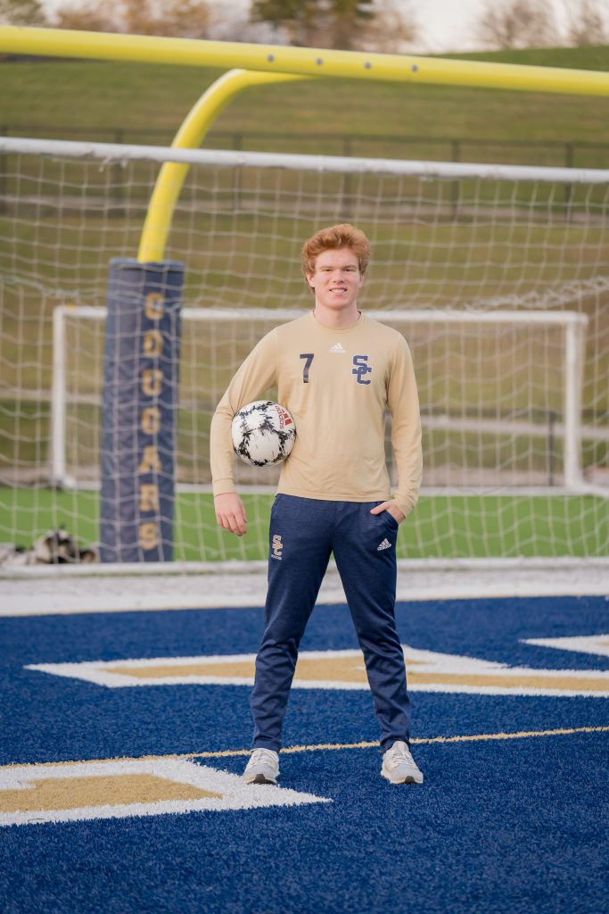 stoney creek soccer senior portrait