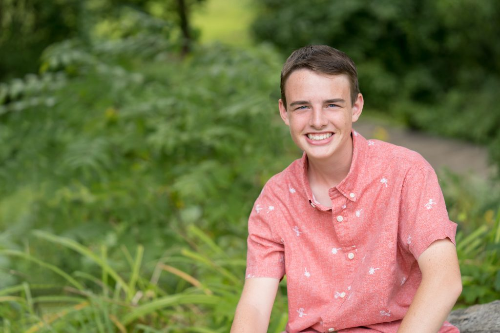 Stoney Creek High School Senior Portraits at Van Hoosen Farm