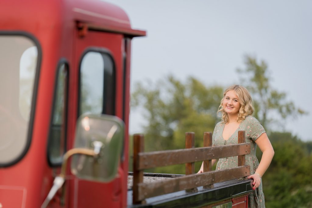 Farm Senior Portraits