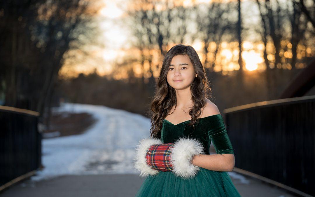 Winter Portraits Rochester Michigan