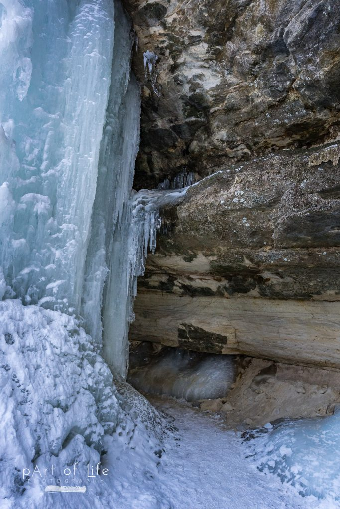 Munising Ice Curtains Nature Photography