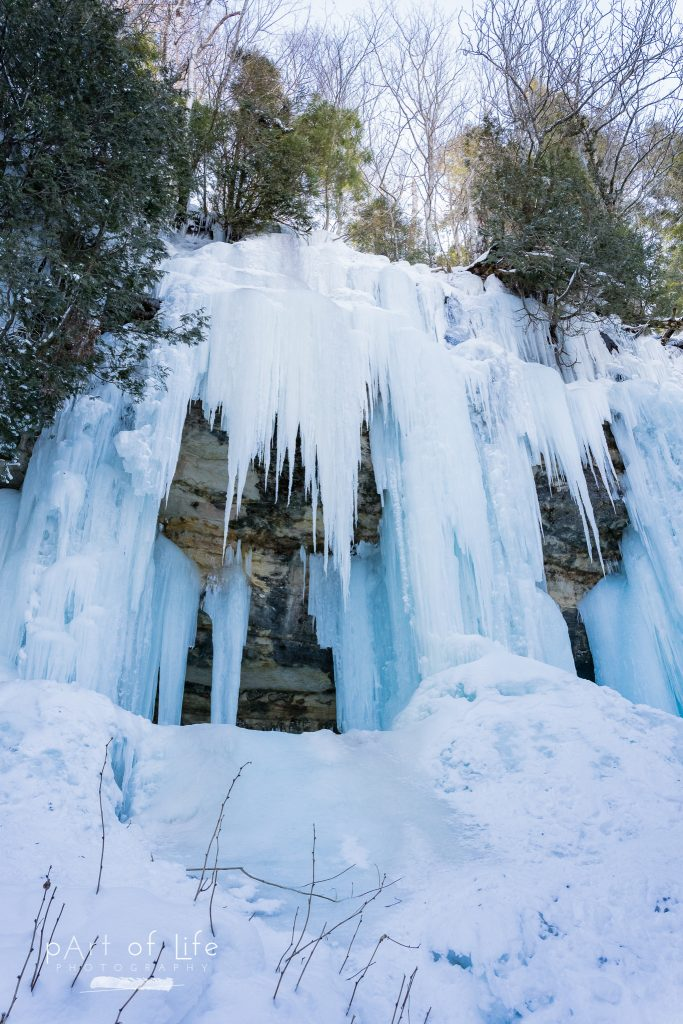 Munising Ice Curtains