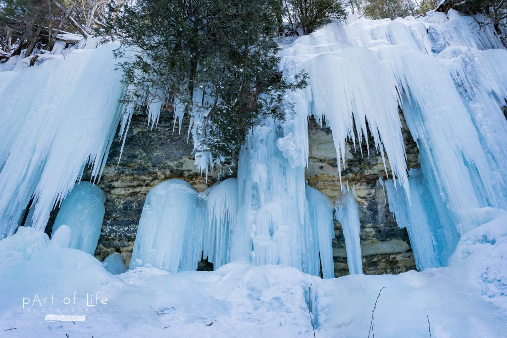 Munising Ice Curtains Nature Photography Sand Point