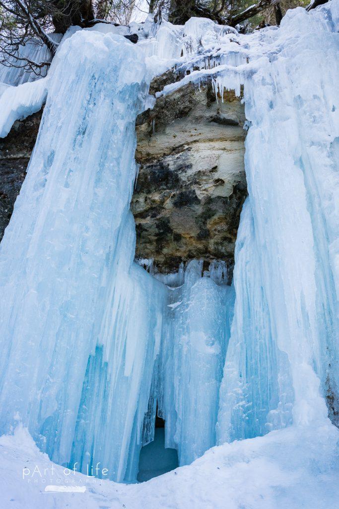 Munising Ice Curtains