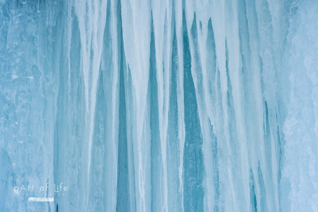 Munising Ice Curtains Nature Photography