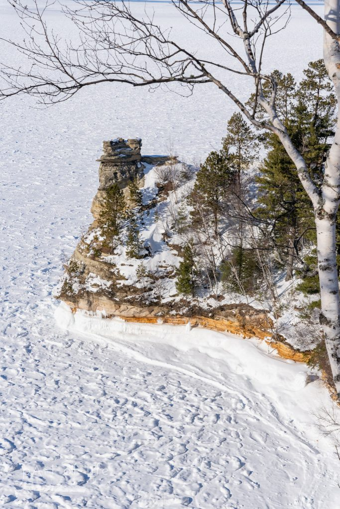 Miners Castle Winter Photography