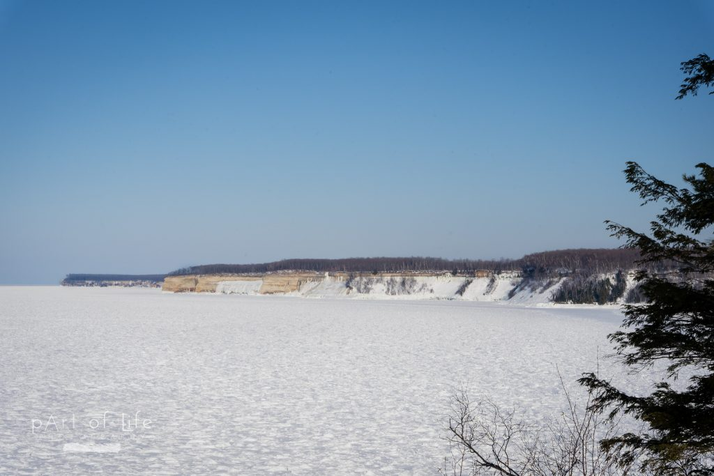 Pictured Rocks in the Winter