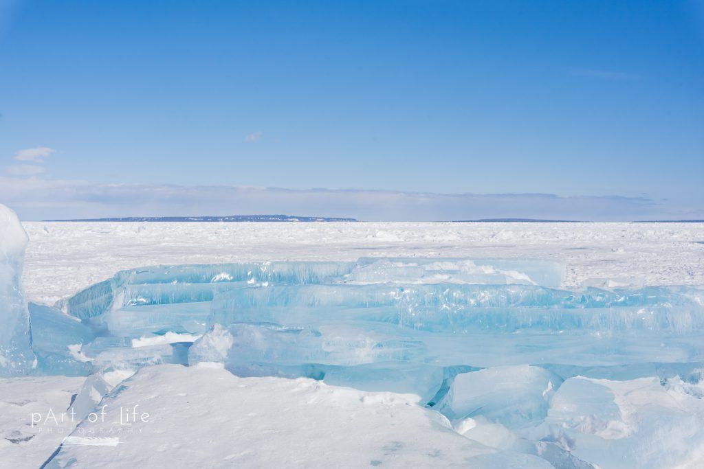 Mackinac Island Blue Ice